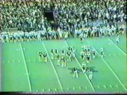 1979: Game winning drive against Indiana