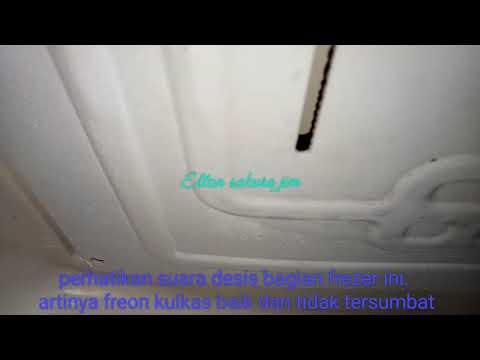 Cara Tau Ciri Ciri Freon Kulkas Tidak Tersumbat Freezer Marks Are