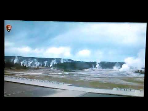 Yellowstone geysers spewing a lot of water