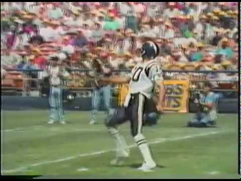 VHS San Diego Chargers 1991