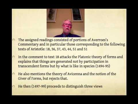 Ibn Rushd / Averroes Creation in the Commentary on the Metaphysics