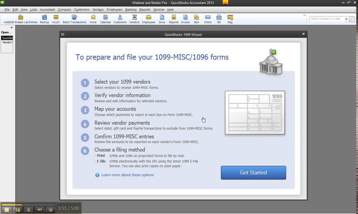 How to process 1099 misc in quickbooks desktop 2012 or 2013 and how to process 1099 misc in quickbooks desktop 2012 or 2013 and exclude the 1099 k payments falaconquin