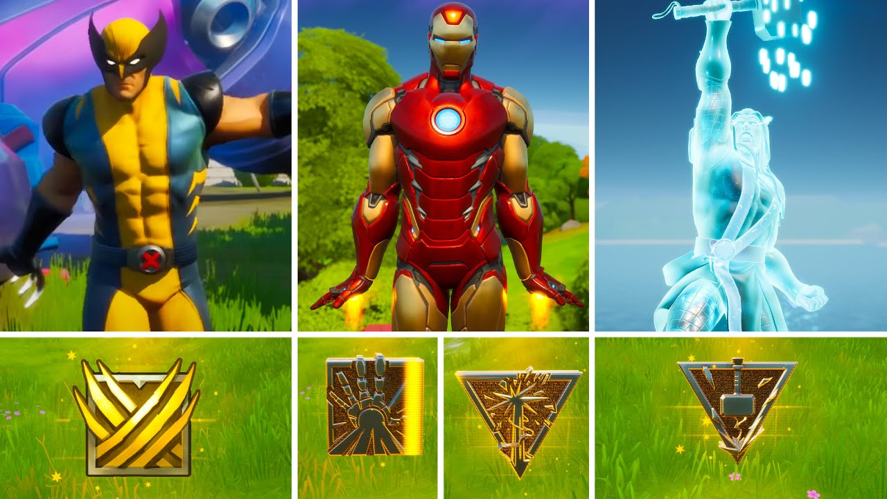Download All NEW Bosses, Mythic Weapons & Vault Locations Guide in Fortnite Chapter 2 Season 4 Update!
