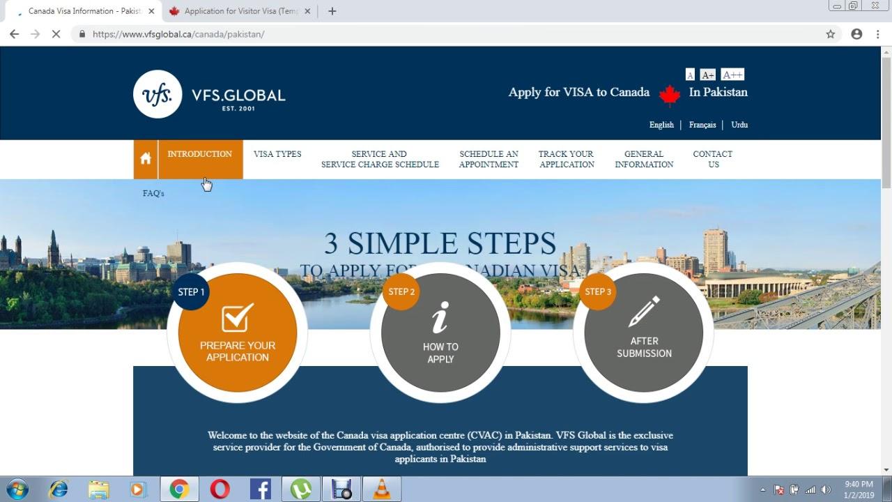 Kết quả hình ảnh cho canada visitor visa process 2019