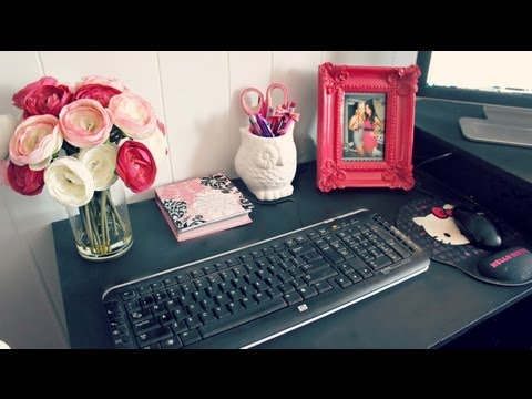 Room Decor Office Desk Tour And Ideas