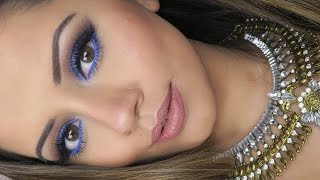Purple & Lilac Full Face Afforable Prom Makeup