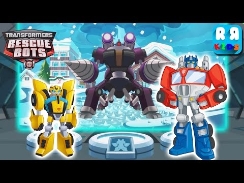 Thumbnail: Transformers Rescue Bots: Disaster Dash - Rescue Ice Strom with Optimus Prime and Bumblebee
