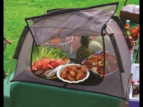 review dura tent ft 100 outdoor table top food screen picnic size