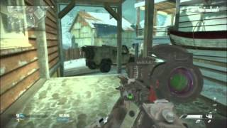 CoD Ghosts - Quick Scoping (Semi Auto)
