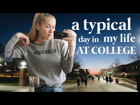 A (VERY NORMAL) DAY IN MY LIFE AT COLLEGE