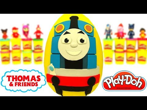 Thomas ve Arkadaşları Sürpriz Yumurta Oyun Hamuru Thomas Oyuncakları