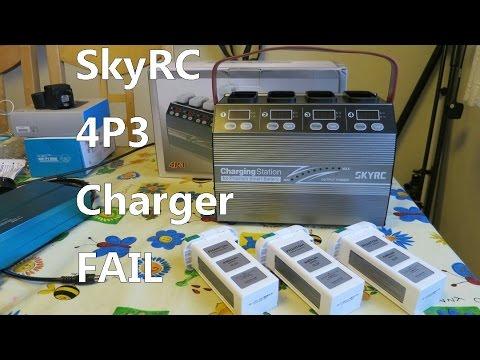 SkyRC 4P3 review - unusable 4 way charger/discharger for DJI Phantom 3
