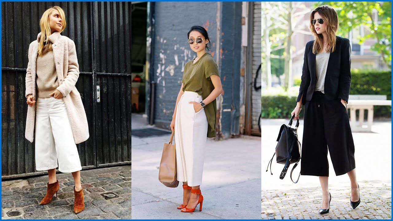 How to Wear Culottes This Spring