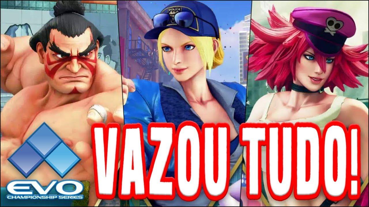 VELBERAN - Poison, E. Honda e Lucia Vão Salvar o Street Fighter V + Evo 2019