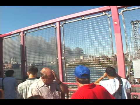 September 11, 2001 - Williamsburg Bridge, Brooklyn, NY