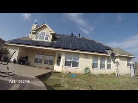 2018-01-10 Freedom Solar Panel Install