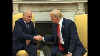 Trump: Kelly Will Do a 'Spectacular Job' As COS