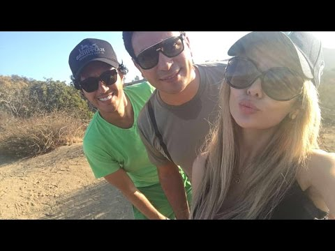 Hiking TIME @ Runyon Canyon - Simobb avec Lina & Hicham Hajji