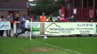 Fan takes corner for James Tavernier in pre-season friendly - Altrincham v Wigan Athletic