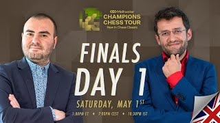 $1.5M Meltwater Champions Chess Tour: New In Chess Classic | Finals Day 1 | P.Leko & T.Sachdev