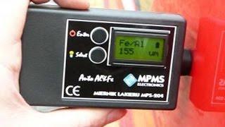 Обзор толщиномера лакокрасочных покрытий MPS-204