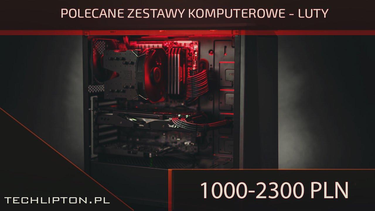 Polecane zestawy komputerowe cz.1 - luty 2016.
