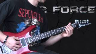 Sepultura - Territory - Metal Guitar Lesson (with TABS)
