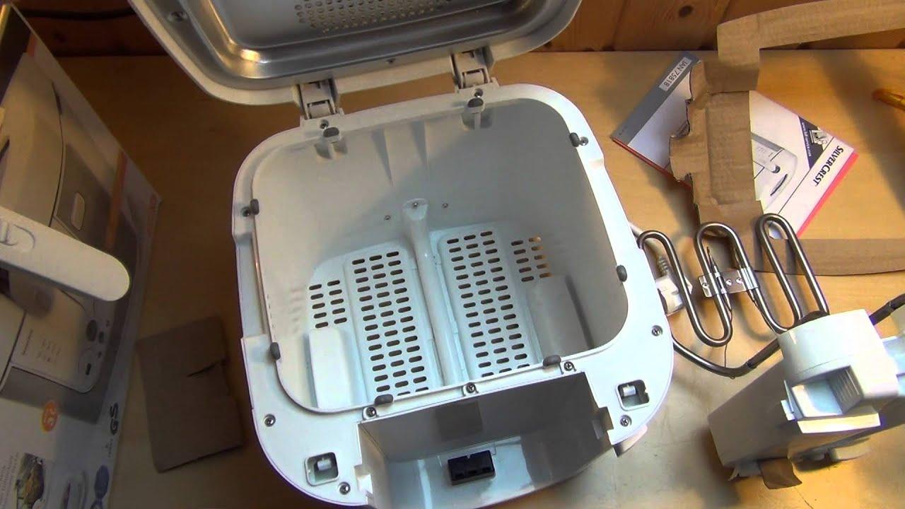 Kaltzonen Fritteuse [LIDL SilverCrest Kitchen Tools] Deep Fryer ...