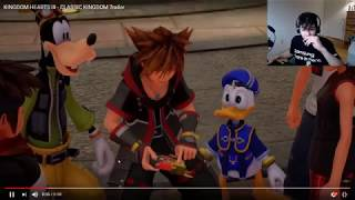 Kingdom Hearts 3 - Classic Mini-Games Trailer REACTION! HAYNER!! PENCE!!! OLETTE!!!!!