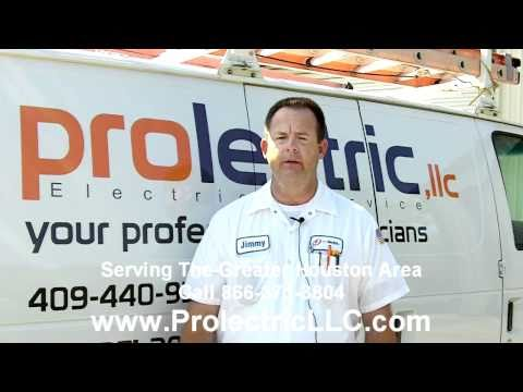 Friendswood Electrical Contractor Company - Prolectric LLC Quote And Bids for Friendswood Electrical