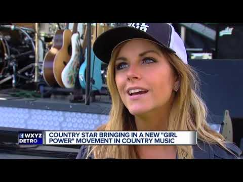 Country star bringing in new 'girl power' movement in country music