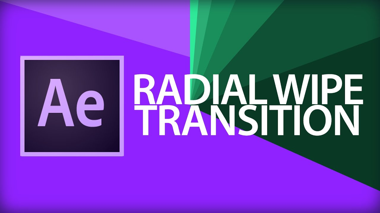 After Effects Tutorial | Radial Wipe Transition