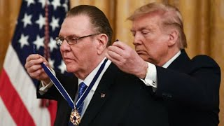 Trump Gives Medal Of Freedom To General Jack Keane