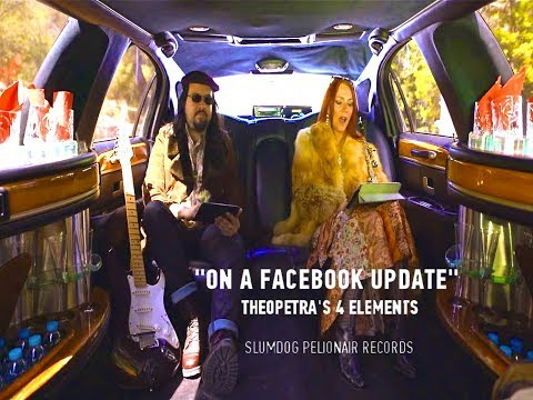 On A Facebook Update   (Official Video)   -    Theopetra's 4 Elements