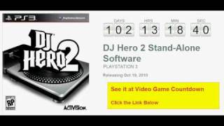 DJ Hero 2 Stand-Alone Software PS3 Countdown