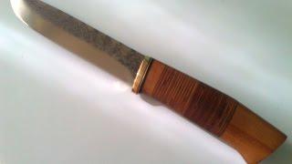 Нож из мехпилы(Р6М5) # 4.