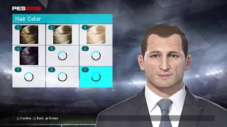 Make Face Massimiliano Allegri on PES 2018 Like Real 100%