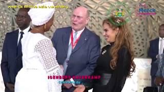 The First Lady of Sierra Leone, H E  FATIMA MAADA BIO, Speech during Merck Africa Asia Luminary
