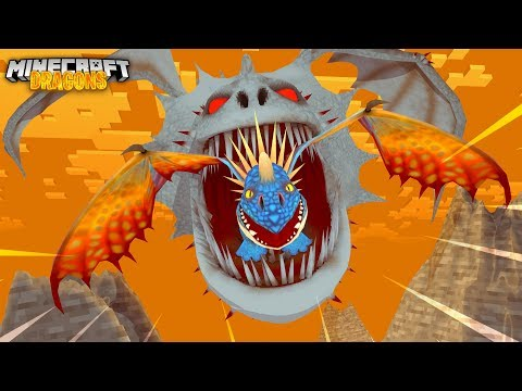 A Dragon EATS A BABY DRAGON!! - Minecraft Dragons