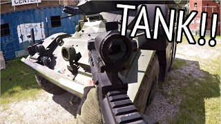 DESTROY THE TANK | DV8 Part 27: Ep.2 | Custom Airsoft M4 Carbine Gameplay
