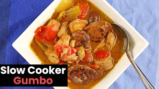 Belly Warming Slow Cooker Gumbo