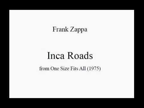 Frank Zappa - Inca Roads (score)