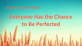 """Everyone Has the Chance to Be Perfected"" 