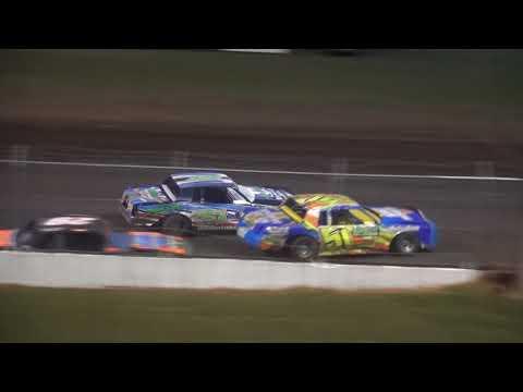 IMCA Hobby Stock Season Championship feature Benton County Speedway 8/20/17