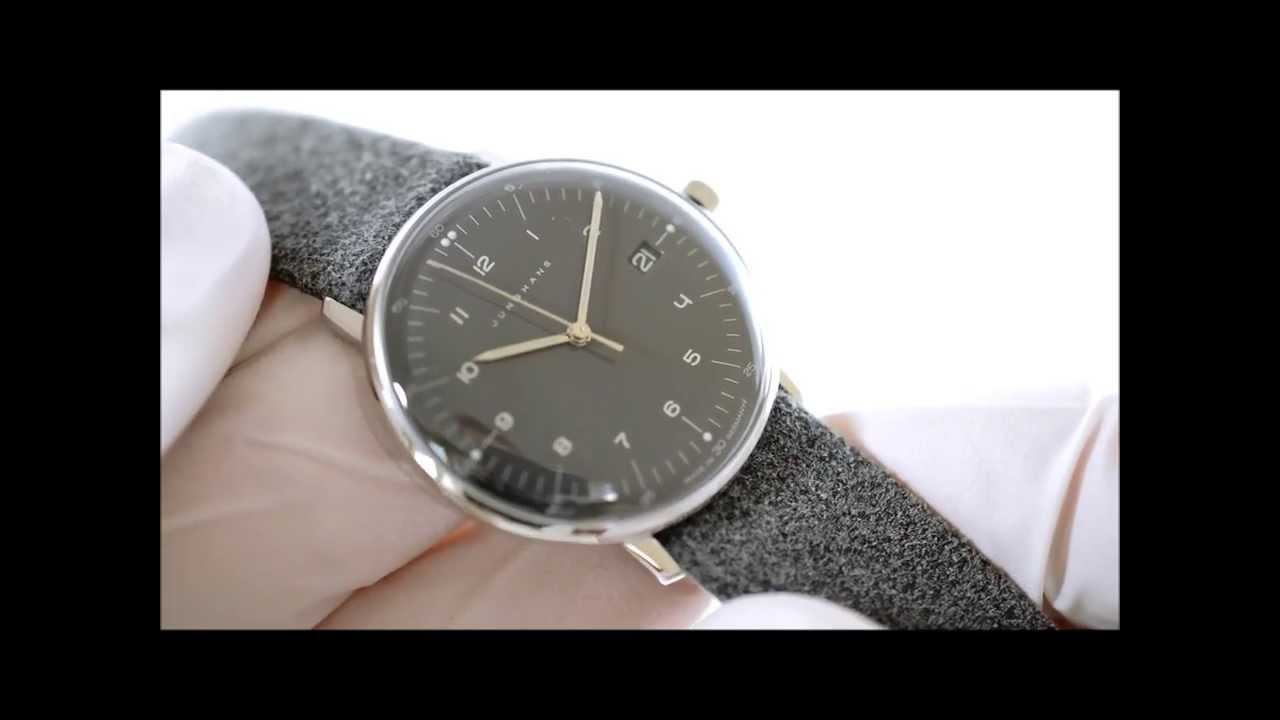 Junghans Max Bill Lady 047 4542.00 - YouTube 6771a216e7d