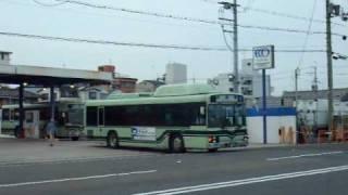 京都市交通局 2071号車 CNG ノンステップバス