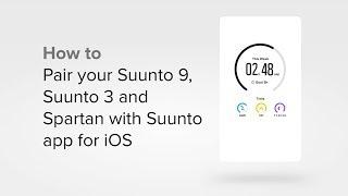 Suunto app - How to pair your watch with Suunto app for iOS