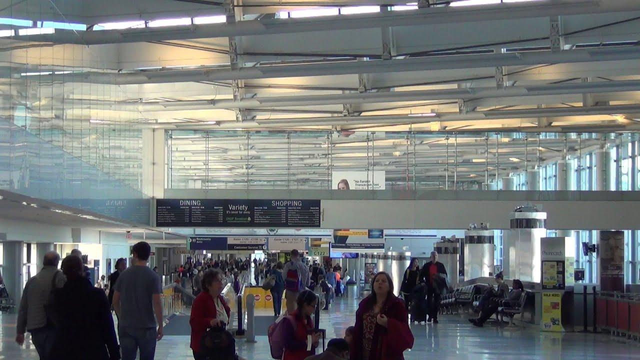 A Video Tour of Newark International Airport (EWR), Terminal C ...