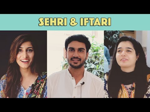 Bolo Pakistan | What Do You Eat For Sehri & Iftari? | MangoBaaz