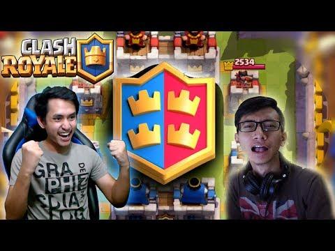 MAIN 2V2 SAMA APIP LANGSUNG DIKASIH GIANT CHEST GRATIS !! Clash Royale Indonesia